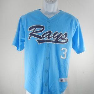 Tampa Bay Rays #3 Longoria Women's Large 12-14